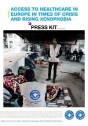 2013: Πρόσβαση σε ιατροφαρμακευτική περίθαλψη στην Ευρώπη εν καιρώ κρίσης και έξαρσης της ξενοφοβίας