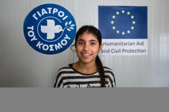 Kritof Vadino, 201609, Vluchtelingen, Griekenland, Noord-Griekenland, Lagadigia, Dokters van de Wereld, Europese Unie, Eccho