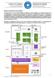 Πρόταση των ΓτΚ Ελλάδας για την αντιμετώπιση της Πανδημίας COVID19 στη Μόρια Λέσβου